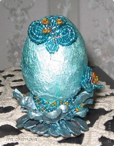 Вот моя веселая семейка декоративных яиц фото 4