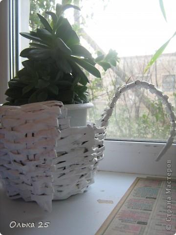 Моя лебедь-подставка для комнатных цветов! фото 2
