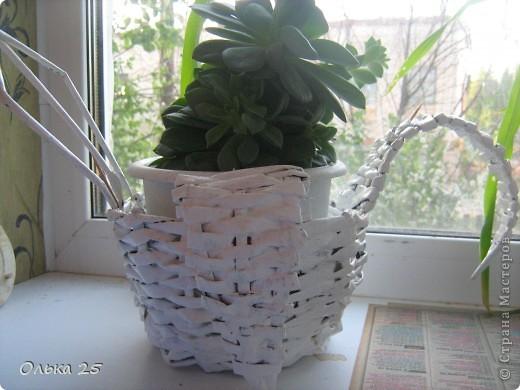 Моя лебедь-подставка для комнатных цветов! фото 4