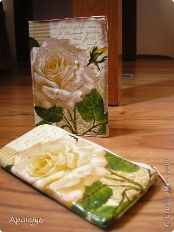 Обложка на паспорт и чехол для телефона))) фото 1
