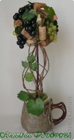 Всем привет!!!!!!!!!!! Наконец, у меня выросло виноградное дерево в компанию к деревьям Кокетки, Рыжехвостой, Еленче, Светленькой Ланы....!!!!!! Но у каждой из нас свой, особенный вариант. фото 6