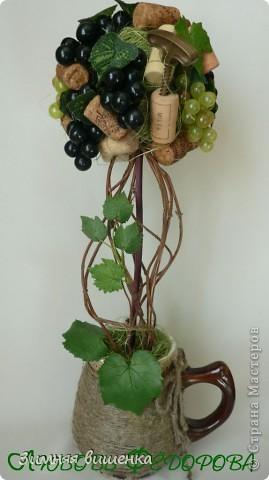 Всем привет!!!!!!!!!!! Наконец, у меня выросло виноградное дерево в компанию к деревьям Кокетки, Рыжехвостой, Еленче, Светленькой Ланы....!!!!!! Но у каждой из нас свой, особенный вариант. фото 1