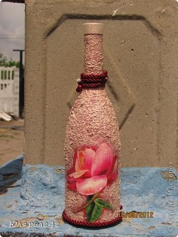 Очередную бутылочку заказали в подарок на день рождения. Надеюсь имениннице понравится))))  фото 2