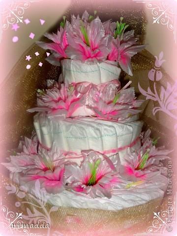 Мои торты из памперсов фото 3