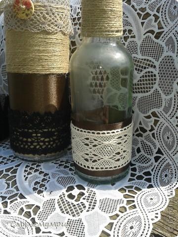Добрый день,жители СМ.Мои новые бутылочки.Сделала новые фоточки. Это интерьерные бутылочки,в них можно положить ватку пропитаную ароматным маслом. фото 3