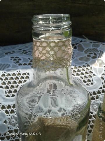 Добрый день,жители СМ.Мои новые бутылочки.Сделала новые фоточки. Это интерьерные бутылочки,в них можно положить ватку пропитаную ароматным маслом. фото 4