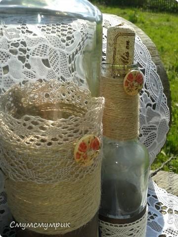 Добрый день,жители СМ.Мои новые бутылочки.Сделала новые фоточки. Это интерьерные бутылочки,в них можно положить ватку пропитаную ароматным маслом. фото 2