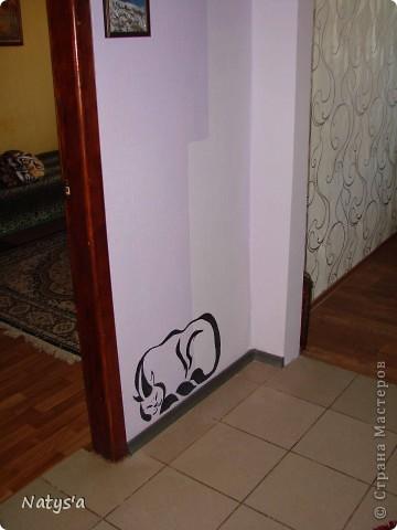 Вот такой котик поселился у меня в коридоре.  фото 3