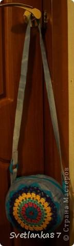 Моя самая первая сумочка.Не судите строго)),признаюсь,что косячки есть. фото 6