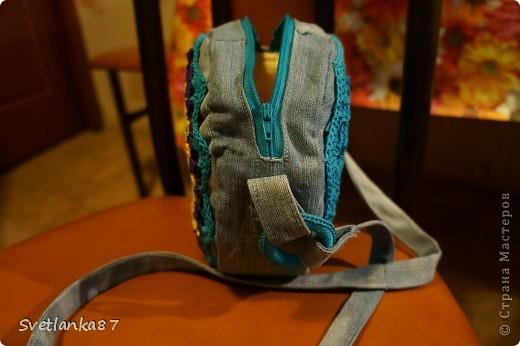 Моя самая первая сумочка.Не судите строго)),признаюсь,что косячки есть. фото 4