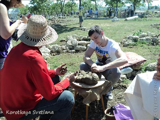 """19 мая было открытие этнографического музея """"Атамань"""" который находится в Краснодарском крае на Таманском полуострове. Я со старшими сыновьями приехали на этот праздник. Впечатлений - море, хотя и моря там хватало.  фото 12"""