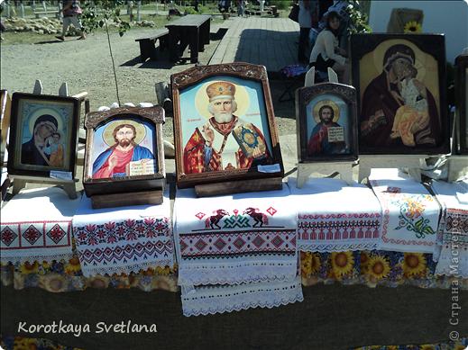 """19 мая было открытие этнографического музея """"Атамань"""" который находится в Краснодарском крае на Таманском полуострове. Я со старшими сыновьями приехали на этот праздник. Впечатлений - море, хотя и моря там хватало.  фото 16"""