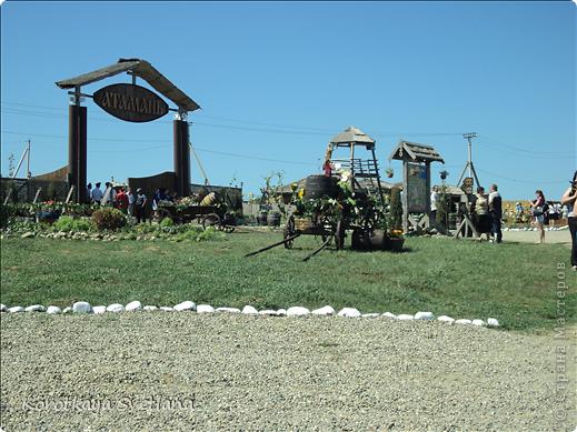 """19 мая было открытие этнографического музея """"Атамань"""" который находится в Краснодарском крае на Таманском полуострове. Я со старшими сыновьями приехали на этот праздник. Впечатлений - море, хотя и моря там хватало.  фото 1"""