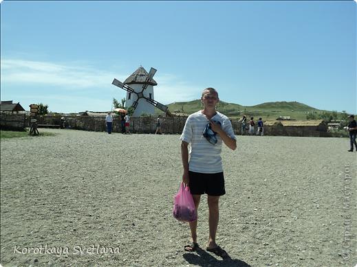 """19 мая было открытие этнографического музея """"Атамань"""" который находится в Краснодарском крае на Таманском полуострове. Я со старшими сыновьями приехали на этот праздник. Впечатлений - море, хотя и моря там хватало.  фото 17"""