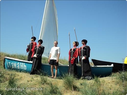 """19 мая было открытие этнографического музея """"Атамань"""" который находится в Краснодарском крае на Таманском полуострове. Я со старшими сыновьями приехали на этот праздник. Впечатлений - море, хотя и моря там хватало.  фото 20"""