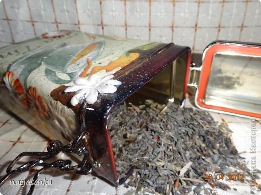Баночка под чай,получилось не совсем то,что хотелось,но тоже ничего! фото 1