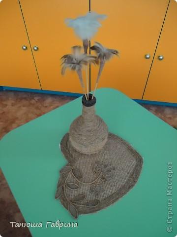 Для родительского уголка в детском саду я изготовила вот такую салфетку. фото 3