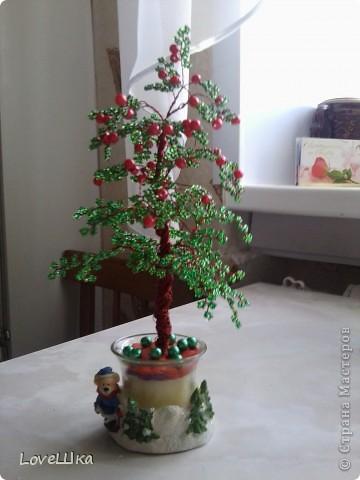 Вот такое милое деревце сделала в подарок старшей сестре на свадьбу, думаю она оценит и поставит в новый дом) фото 1