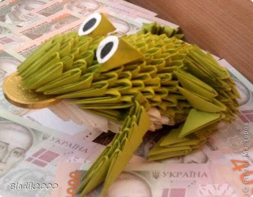 Вот такая у меня вышла жабка -бабушке на день рождения............. фото 3