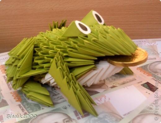 Вот такая у меня вышла жабка -бабушке на день рождения............. фото 5