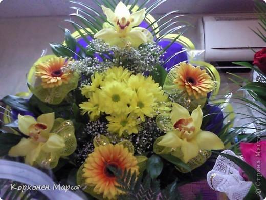 а это уже живые цветы... фото 5
