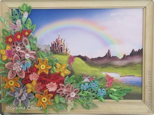 У меня есть фея цветов. А теперь появилась и страна, в которой она живет. фото 1