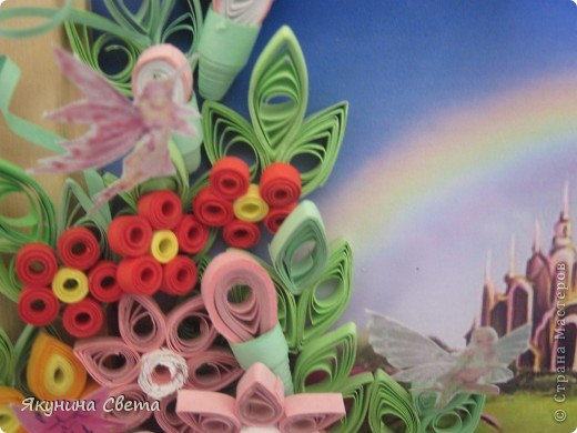 У меня есть фея цветов. А теперь появилась и страна, в которой она живет. фото 4