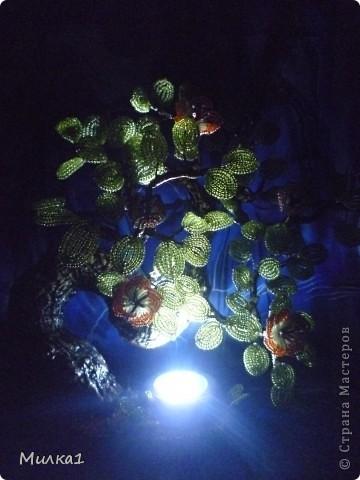 Интерьер Бисероплетение Ночник майское солнышко Бисер Гипс фото 2.