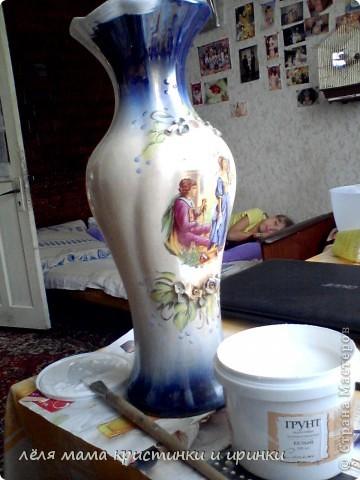 принесла мне дочка из школы старую разбитую вазу фото 1