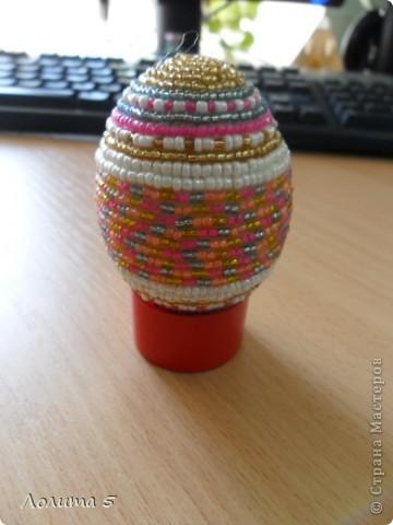 бисерные яйца фото 4