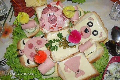 Детские бутербродики, накопала в интернете, решила приготовить. фото 1