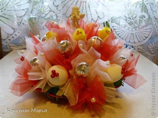 еще букеты из конфет фото 3