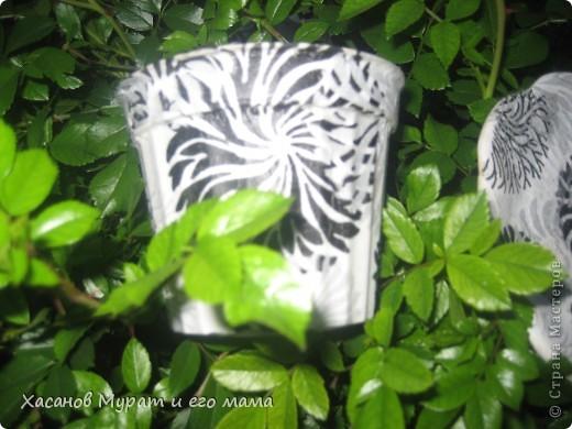 Горшок цвкточный и подставка фото 3
