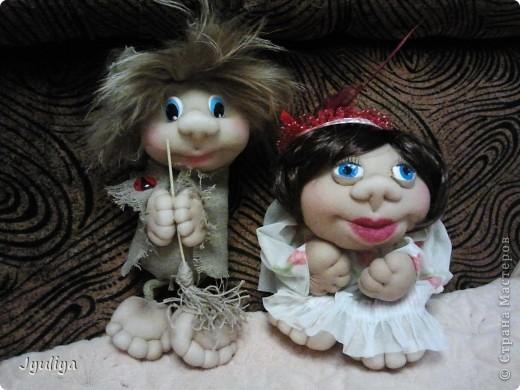 Страна мастеров уже наполнилась подобными куклами, но все-таки хочется показать свои работы вам!Коллективное фото! фото 2