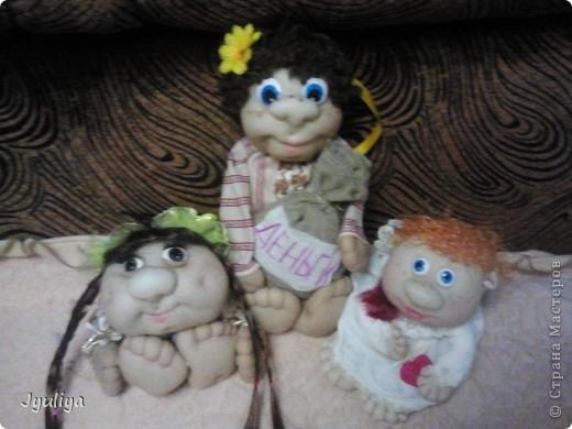 Страна мастеров уже наполнилась подобными куклами, но все-таки хочется показать свои работы вам!Коллективное фото! фото 1