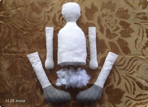 Сшила я куколку по МК  http://www.vsehobby.ru/kukla_iz_tkani.html , уж ооочень она мне понравилась. Расскажу немножко как она у меня рождалась. фото 3