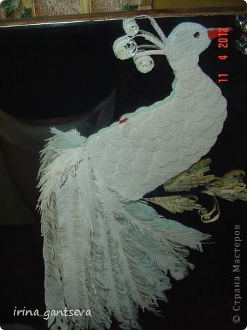 Моя Мамуля отдыхала в санатории, привезла нам Двух лебедей.  На отдыхе. . . . )) - рукодельничала.  Это её первый опыт !!!  фото 9