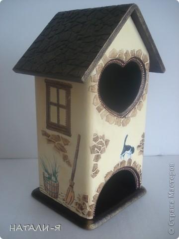 Как давно я мечтала сделать чайные домики, и, наконец, заготовки у меня, вот что получилось. фото 2