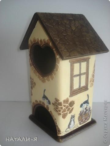 Как давно я мечтала сделать чайные домики, и, наконец, заготовки у меня, вот что получилось. фото 3