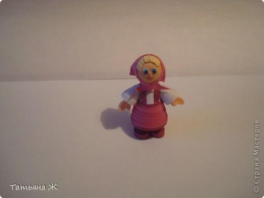 Мои первые миниатюры в технике квиллинг фото 5