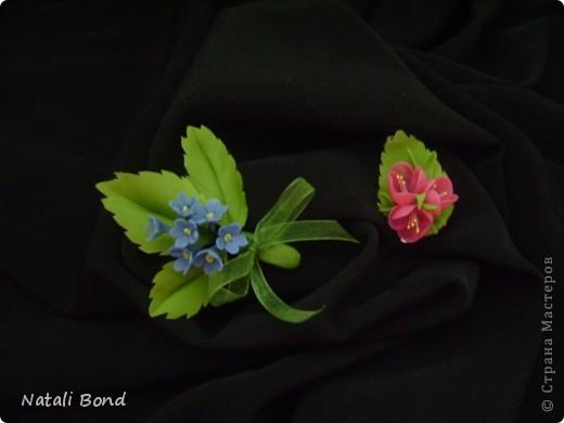 Доброго Всем дня!!!!!Я понимаю ,столько уже сделано  этих милых цветов в СМ ,да и у меня были,но правильно собранный сделала в первый раз,лепила с натуры,старалась повторить все тонкости,думаю удалось....,а как думаете ВЫ??? фото 7
