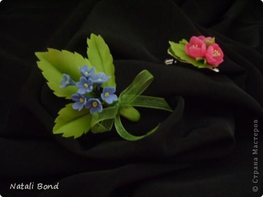 Доброго Всем дня!!!!!Я понимаю ,столько уже сделано  этих милых цветов в СМ ,да и у меня были,но правильно собранный сделала в первый раз,лепила с натуры,старалась повторить все тонкости,думаю удалось....,а как думаете ВЫ??? фото 8