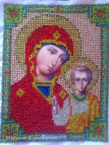 Икона Казанская Пресвятая Богородица фото 2