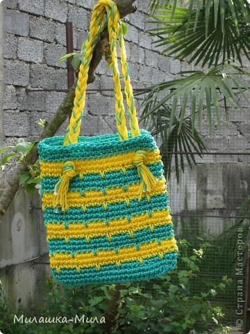 Летние пляжные сумочки фото 2
