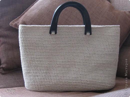 Дно вязанной сумки как сделать
