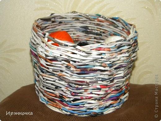 "вот такая корзинка из журнала ""Бон прикс"". фото 1"