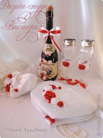 Свадебный сундучок-сердце для подарков, свадебное приглашение и кулечек для лепестков роз. фото 2