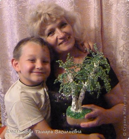 Это дерево я сделала на День рождение своей сестренке. До этого все мои сделанные деревья были одноствольные. Мне давно хотелось сделать двухствольную березку, и вот наконец моя мечта сбылась. фото 8