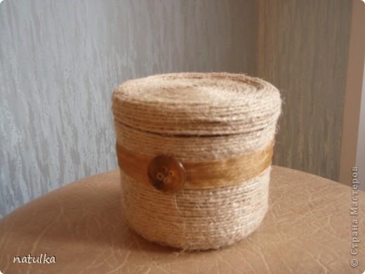 простенькая коробочка