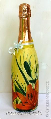 Декупаж бутылочек. фото 3